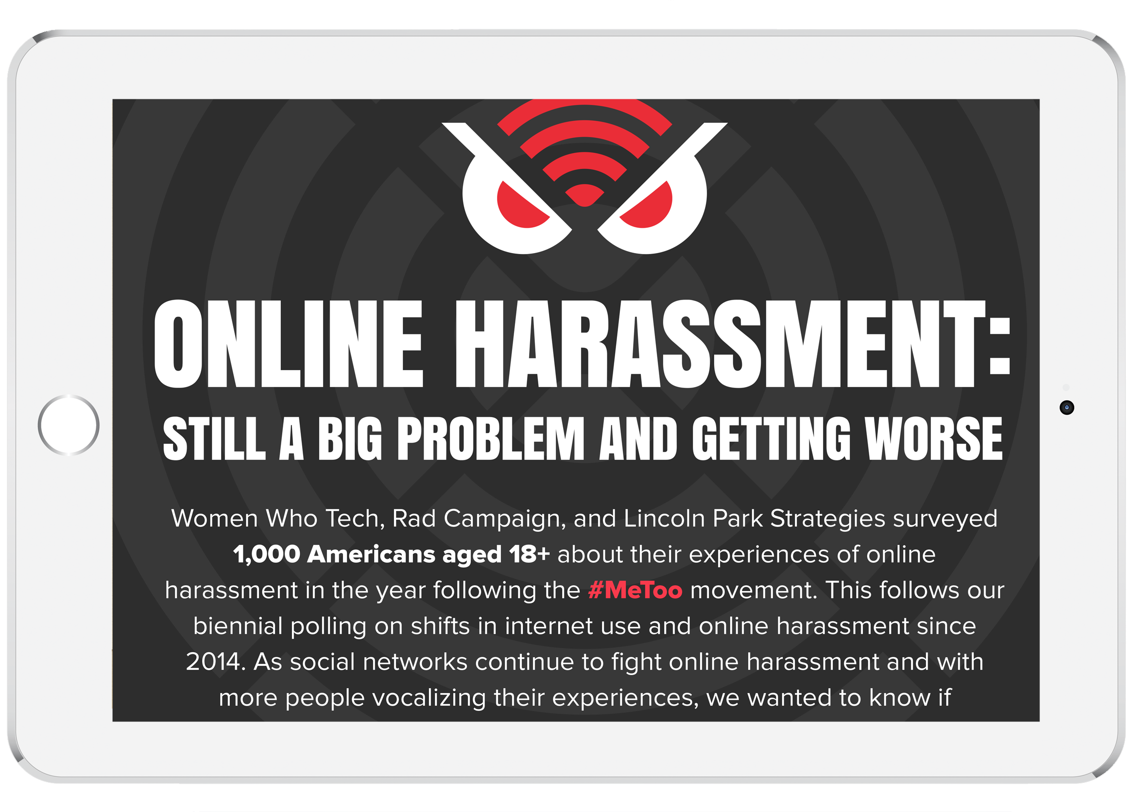 2018 Online Harassment Data